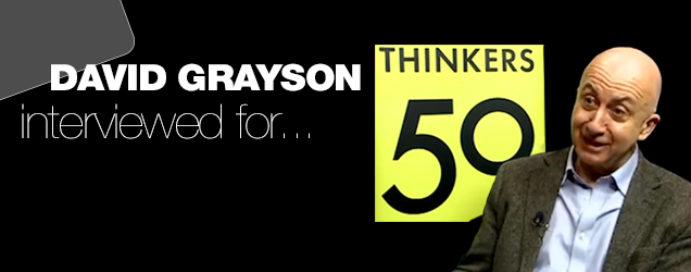 Professor David Grayson talks responsibly with T50