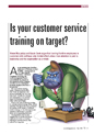 Is your customer service training on target?