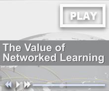 The value of network learning