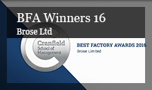 Best Factory Awards 2016