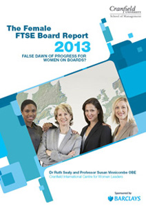 The Female FTSE Report 2013
