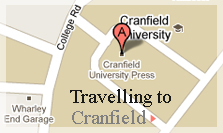 Cranfield MBA course - how to find us