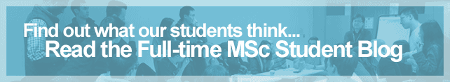 Read our Full-time MSc student blog